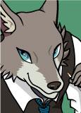 2021年 illustratorCS6 オオカミさん